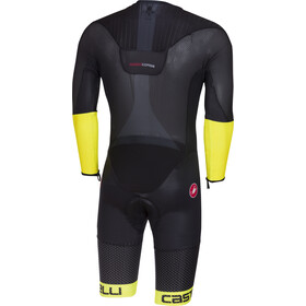 Castelli Body Paint 3.3 Speed Suit Herrer, black/yellow fluo